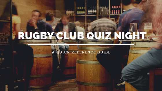 Rugby Quiz Night: A Quick Reference Guide